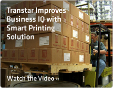 Transtar Improves Business IQ with Smart Printing Solution. Watch the Video »