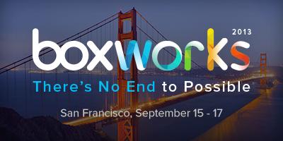 BoxWorks 2013