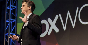 Aaron Levie at BoxWorks 2013