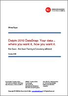 Delphi 2010 DataSnape