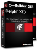 Delphi XE3 or C++Builder XE3