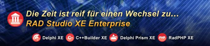 Die Zeit ist reif für einen Wechsel zu RAD Studio XE Enterprise!