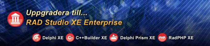 Uppgradera till RAD Studio XE Enterprise!