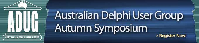 Australian Delphi User Group Autumn Symposium