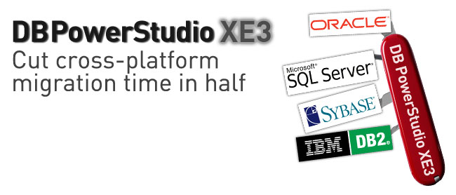 DB PowerStudio EX3- Cut cross-platform