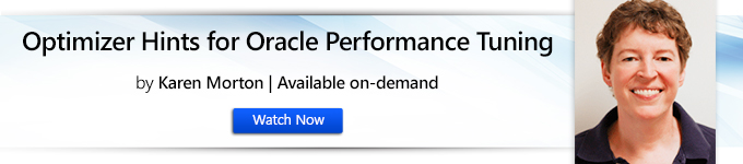 Optimizer Hints for Oracle Performance Tuning