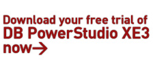 Download your free trial of DB PowerStudio XE3