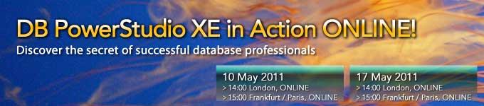 DB PowerStudio XE Online