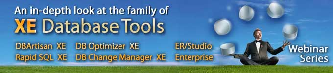 An in-depth look at the XE family of Database Tools 