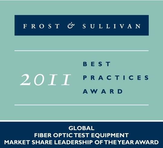 Frost & Sullivan Award 2011