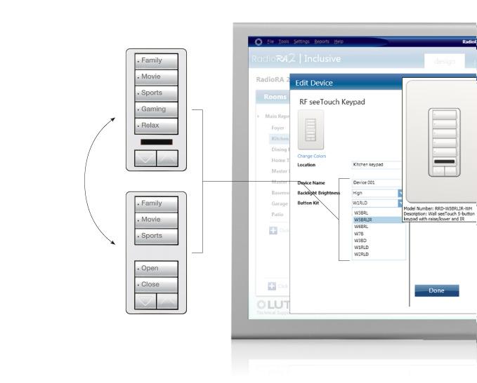 Swap Button Configuration Image