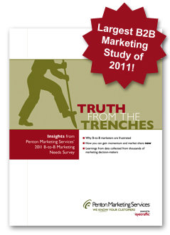 Largest B-to-B Marketing Study of 2011
