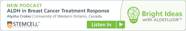 Now: New Podcast on ALDH in Breast Cancer Treatment Response