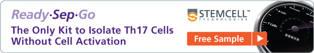 The Only Kit to Isolate Th17 Cells Without Cell Activation