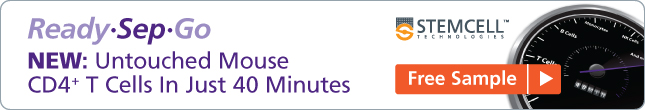 Free Sample: Untouched Mouse CD4 T Cells In Just 40 Minutes (NEW!)