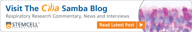 Visit The Cilia Samba Blog for Respiratory Research Commentary, News and Interviews.