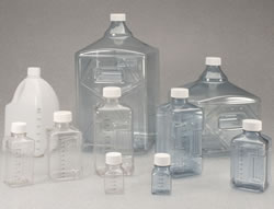 Safe, sterile, single-use containers eliminate the need for cleaning, sterilizing and associated validations.
