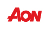 Aon logo red small
