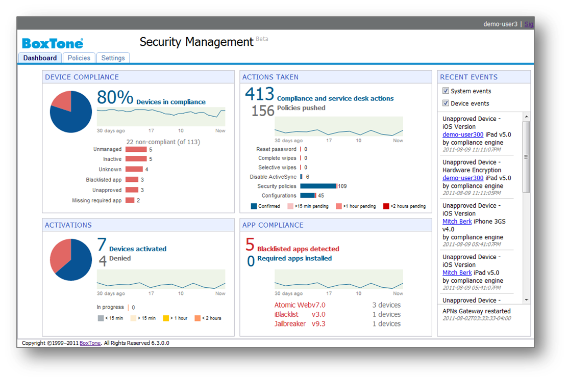 SecurityDashboard