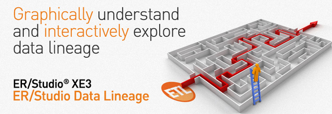 Graphically Understand and Interactively Explore Data Lineage - ER/Studio XE3
