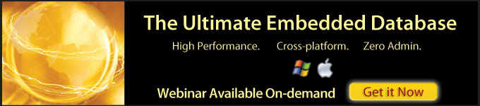 The Ultimate Embedded Database - Webinar Available On-demand
