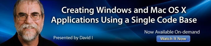 Creating Windows and Mac OS X Applications Using a Single Code Base