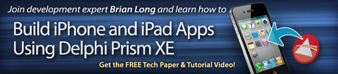 Build iPhone and iPad Apps Using Delphi Prism XE