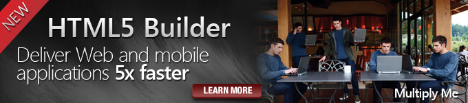 HTML5 Builder - Deliver Web and mobile applications 5x faster - Learn More