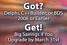 Get Big Savings if you upgrade by March 31st