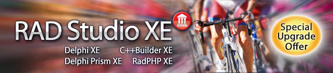 RAD Studio XE Special Upgrade Offer