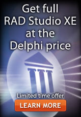 Get full RAD Studio XE at the Delphi price