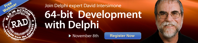 64-Bit Development with Delphi Webinar