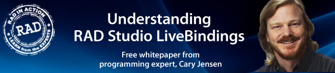 Understanding RAD Studio LiveBindings - Free whitepaper