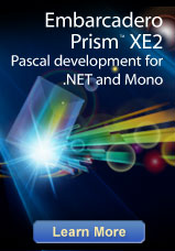 Embarcadero Prism XE2 - Pascal development for .NET and Mono