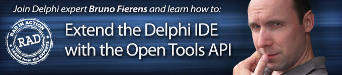 Learn how to Extend the Delph IDE with the Open Tools API