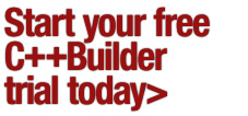 Start your free C++Builder trial today