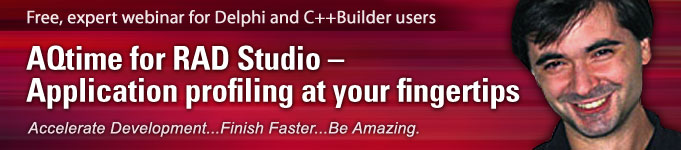 Free, expert webinar for Delphi and C++Builder users
