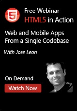 HTML in Action - Web and Mobile Apps From a Single Codebase - Webinar On-Demand
