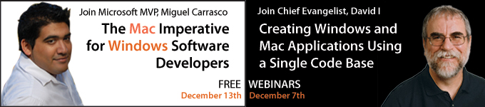 Join David I and Miguel Carrasco for FREE Webinars on Dec 7th & Dec 13th