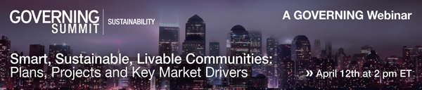 Smart, Sustainable, Livable Communities: Plans, Projects and Key Market Drivers