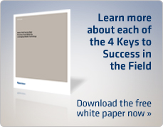 Learn more about each of the 4 keys to success in the field