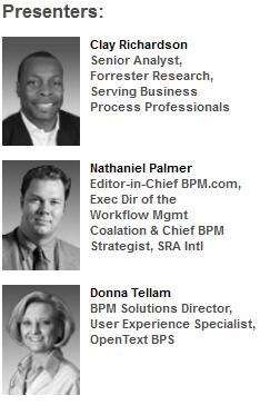 BPS Presenter - BPM.com Webinar Presenters