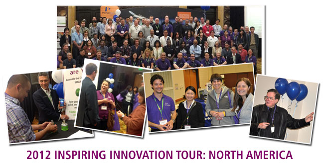 INspiring INnovation Workshop Tour Collage