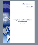 Aberdeen&rsquo;s Supplier Quality Management White Paper