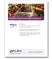 Plex Onlien Revolutionizes Ralco Industries