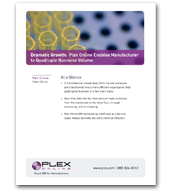 Dramatic Growth: Plex Online Enables Medical Device Manufacturer to Quadruple Business Volume