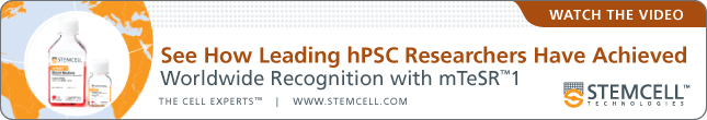See How Leading hPSC Researchers Have Achieved Worldwide Recognition with mTeSR1