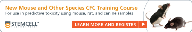 Register for new mouse/rat HSC CFC training course.