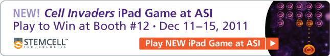 NEW! Play the Cell Invaders iPad Game at ASI (Booth #12, Adelaide, Dec 11-15 2011)