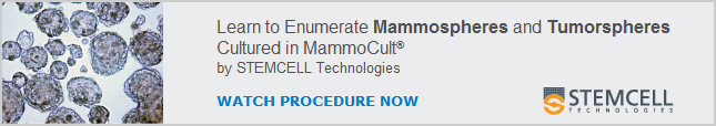 Watch Video: Learn How to Enumerate Mammospheres and Tumorspheres Cultured in MammoCult™